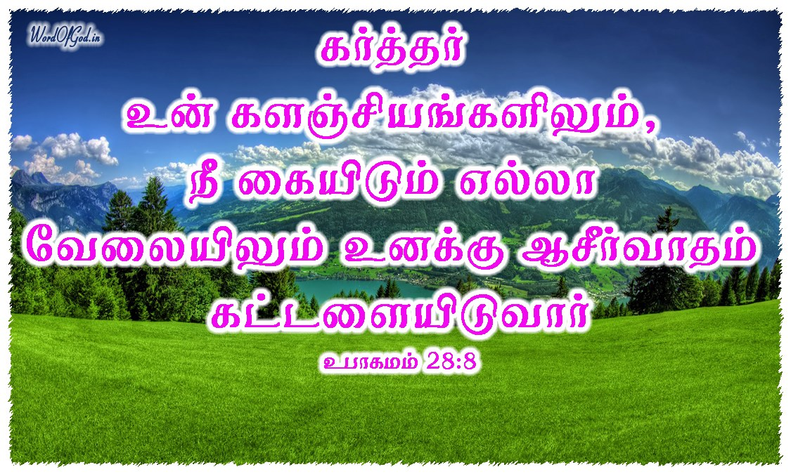 Tamil-Promise-Cards-Deuteronomy-28-8